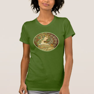 Laurel by Alphonse Mucha T-Shirt