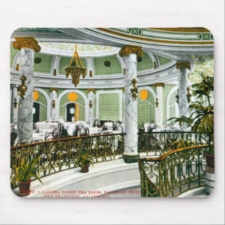 Laurel Court Tea Room Mouse Pad