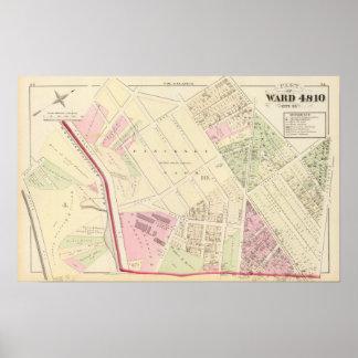 Laurel Dale Chemical Works Atlas Map Poster