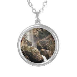 Laurel Falls Round Pendant Necklace