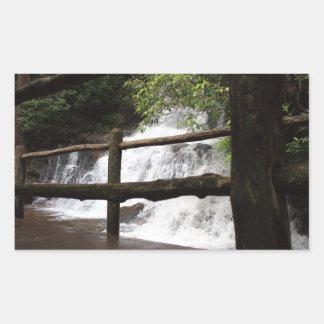 Laurel Falls Rectangular Sticker