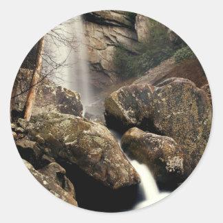 Laurel Falls Round Sticker