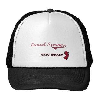 Laurel Springs New Jersey City Classic Trucker Hats