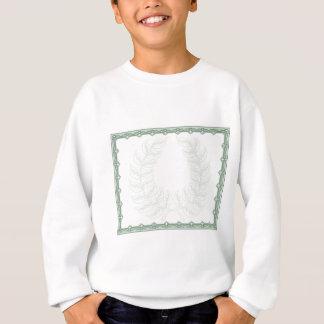 Laurel Wreath Certificate Background Sweatshirt