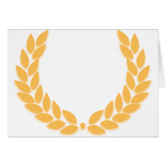 Laurel Wreath Gold Card