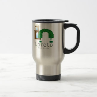Laurels and Mission Stainless Steel Travel Mug