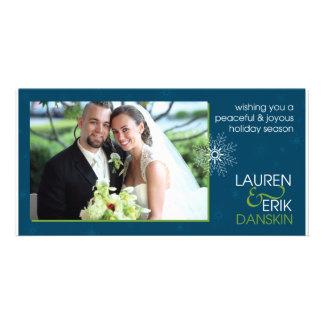 Lauren and Erik Xmas cards Picture Card