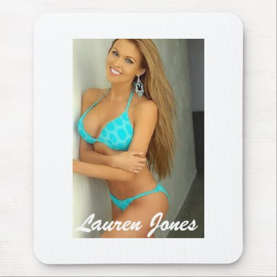 lauren jones blue bikini mousepad p144026426541378163z8xsj 400 Lauren Jones Blue Bikini Mouse Pads by LaurenLJones