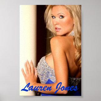 Lauren Jones Poster