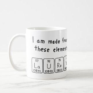 Lauren periodic table name mug