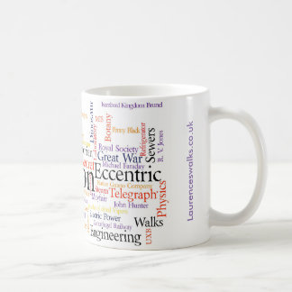 Laurence's Walks Word Cloud November 2016 Coffee Mug