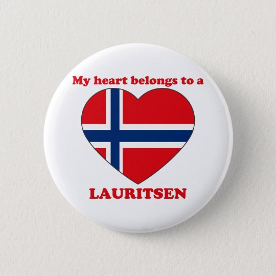 Lauritsen 6 Cm Round Badge