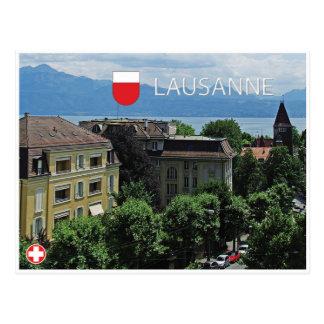 Lausanne - Switzerland Postcard
