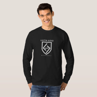 LAUTEN AUDIO LOGO & BADGE BASIC LONG SLEEVE SHIRT