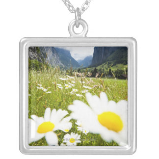 Lauterbrunnen, Switzerland Silver Plated Necklace