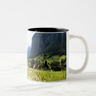 Lauterbrunnen, Switzerland Two-Tone Coffee Mug