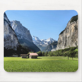 Lauterbrunnen valley mouse pad