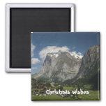 Lauterbrunnen valley refrigerator magnets