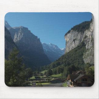 Lauterbrunnen Valley Switzerland 1 Mousepads