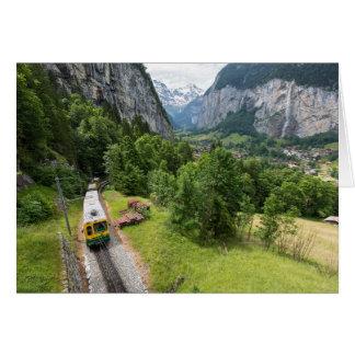 Lauterbrunnen Valley, Switzerland Greeting Card