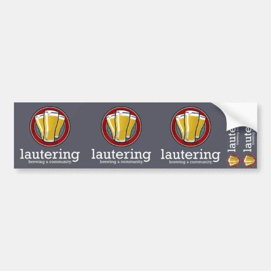 Lautering 5 Sticker Sheet Bumper Sticker