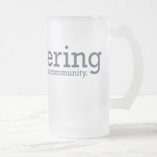 Lautering Glass Stein Frosted Glass Mug