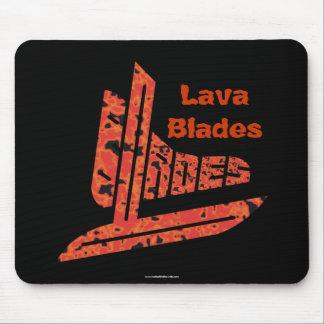 Lava Blades Mouse Pad