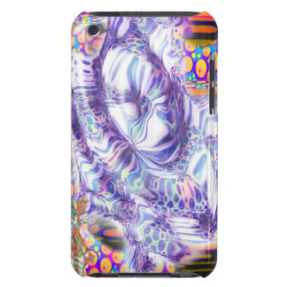 lava dream abstract digital art iPod touch Case-Mate case