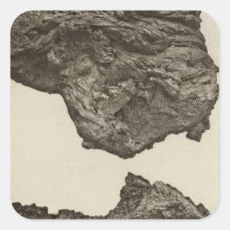 Lava, Lower Sevier, Utah Square Sticker