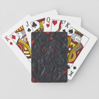 lava playing cards