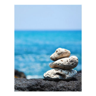 Lava Rock Coral Hawaii Ocean Tropical Beach 21.5 Cm X 28 Cm Flyer