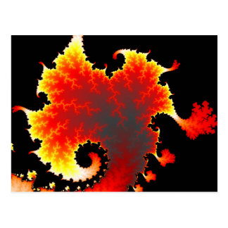Lava Sea - Fractal Postcard