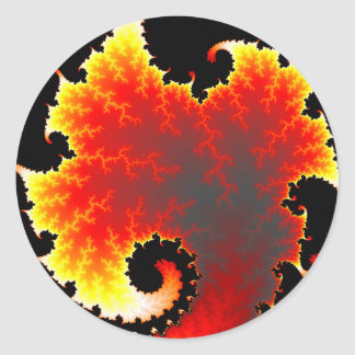 Lava Sea - Fractal Sticker