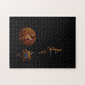 Lava/space ships jigsaw jigsaw puzzle