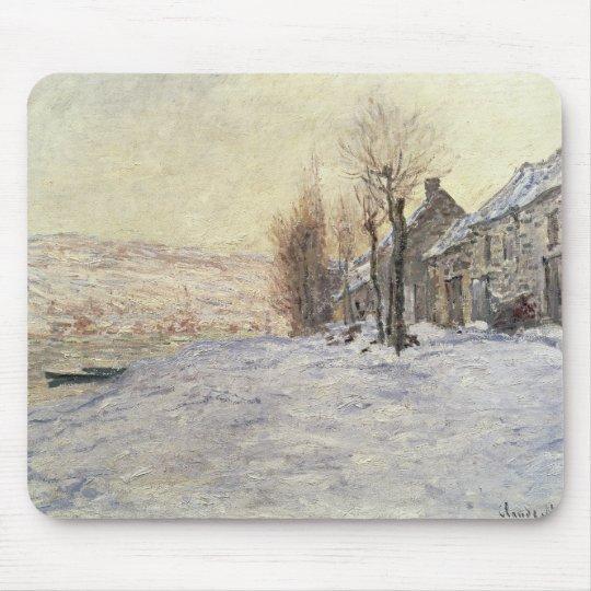 Lavacourt under Snow, c.1878-81 Mouse Mat
