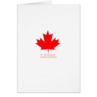 Laval Quebec Card