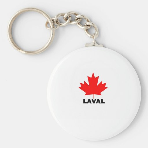 Laval, Quebec Keychain
