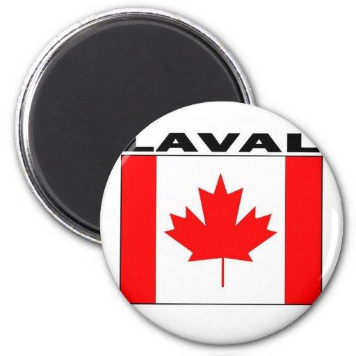 Laval, Quebec Refrigerator Magnet