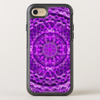 Lavander Lattice Mandala OtterBox Symmetry iPhone 7 Case