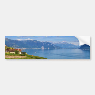 Lavaux region, Vaud, Switzerland Bumper Sticker