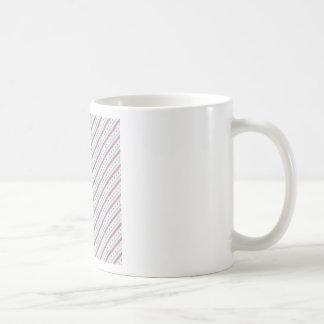 Lavendar Blue Stripes Coffee Mug