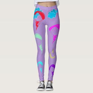 lavendar Colorful Pixie Leggings