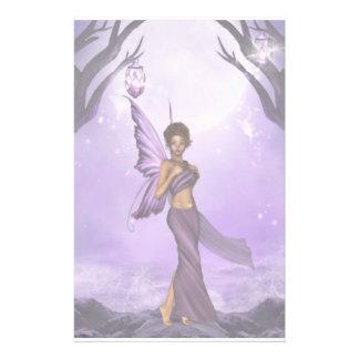 Lavendar Dreams Fairy Stationery