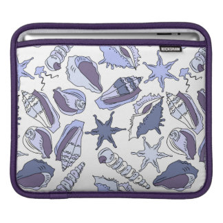 Lavendar Seashells iPad Sleeve