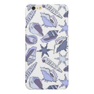 Lavendar Seashells iPhone 6 Plus Case