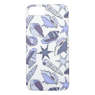 Lavendar Seashells iPhone 8/7 Case