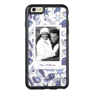 Lavendar Seashells | Your Photo & Name OtterBox iPhone 6/6s Plus Case
