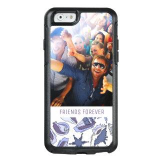 Lavendar Seashells | Your Photo & Text OtterBox iPhone 6/6s Case