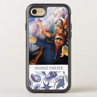 Lavendar Seashells | Your Photo & Text OtterBox Symmetry iPhone 8/7 Case