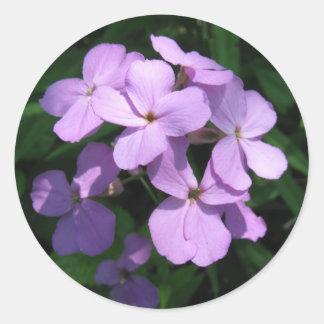 Lavendar Wildflower Sticker